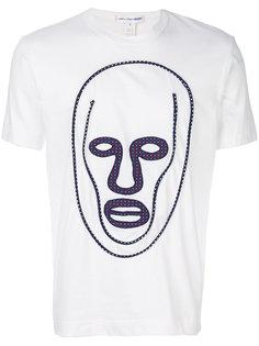 футболка с принтом лица Comme Des Garçons Shirt