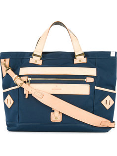 сумка-тоут с накладным карманом As2ov