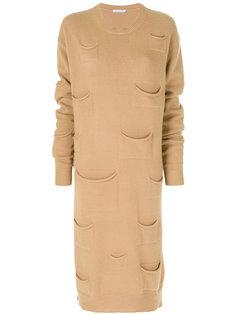 платье с карманами  J.W.Anderson
