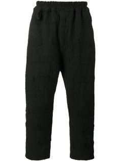 укороченные брюки Morton By Walid