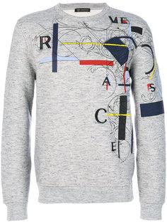 László print sweatshirt Versace