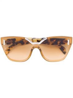 солнцезащитные очки в оправе кошачий глаз Prada Eyewear