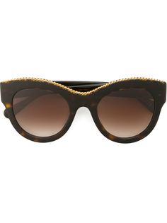 солнцезащитные очки Havana Oversized Stella Mccartney Eyewear