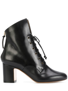 lace-up heeled boots Francesco Russo