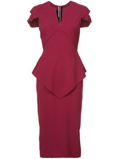 приталенное платье Otterden Roland Mouret