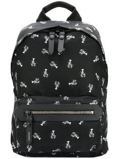 рюкзак с принтом раков Lanvin