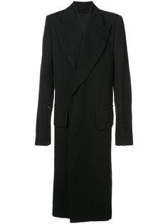 объемное пальто Ann Demeulemeester