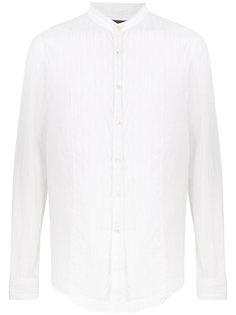рубашка с воротником-стойкой John Varvatos