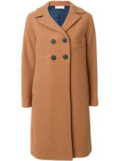 классическое приталенное пальто  Mantu
