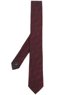 текстурированный галстук Z Zegna
