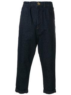 укороченные джинсы свободного кроя Maison Mihara Yasuhiro