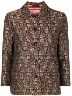куртка с цветочным принтом на пуговицах  Etro