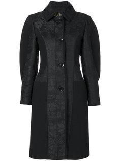 пальто с дутыми рукавами и принтом пейсли  Etro