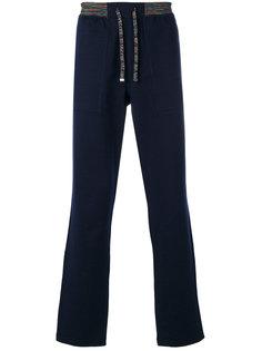 спортивные брюки с трикотажным поясом Missoni