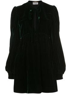 платье-рубашка Babydoll Saint Laurent