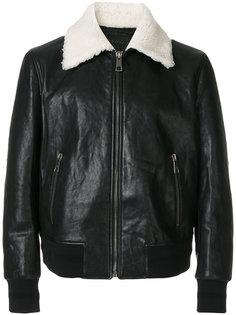 куртка с подкладкой из овчины Neil Barrett