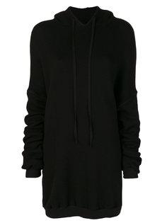 платье-толстовка  Unravel Project