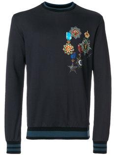 crest print sweatshirt  Dolce & Gabbana