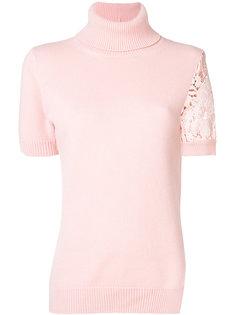 embroidered short sleeve jumper Nº21