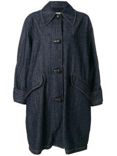 свободное джинсовое пальто  Mm6 Maison Margiela