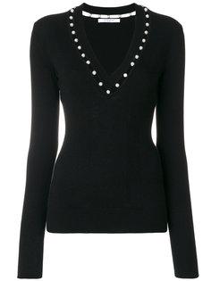 свитер с V-образным вырезом  Givenchy