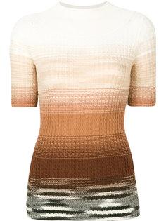 свитер деграде с короткими рукавами Missoni
