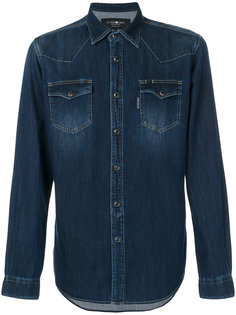 приталенная джинсовая рубашка Hydrogen