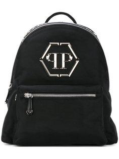 классический рюкзак с логотипом Philipp Plein