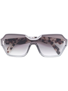 солнцезащитные очки в геометрической оправе Prada Eyewear