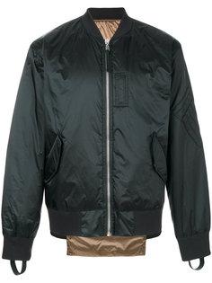 двухсторонняя куртка на молнии Helmut Lang