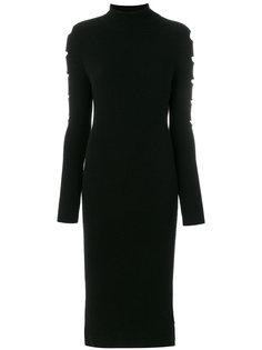 трикотажное платье с вырезами  Philo-Sofie
