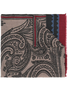 шарф с цветочным принтом Etro