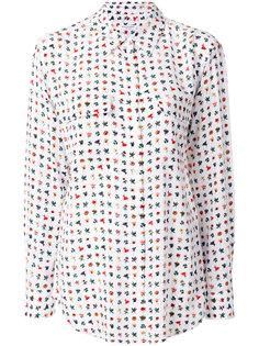 классическая рубашка с цветочным принтом Equipment