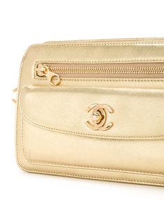 клатч с карманом с клапаном  Chanel Vintage
