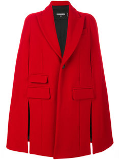 пальто-кейп  Dsquared2