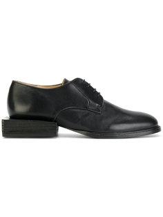 туфли на шнуровке с квадратным каблуком  Jacquemus