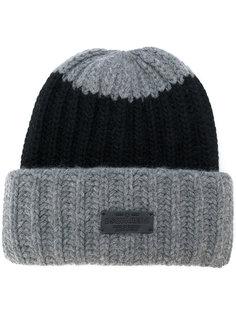 шапка ребристой вязки Dsquared2