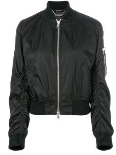 куртка-бомбер с оборками  Alexander McQueen
