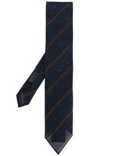 галстук в полоску Lardini