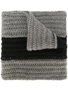 шарф в полоску Dsquared2