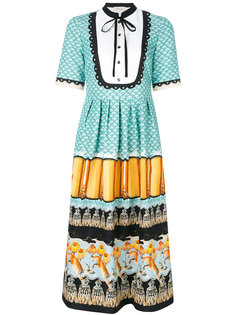 Foxglove printed shirt dress Temperley London
