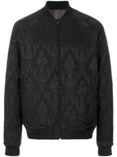 куртка-бомбер с парчовым узором Uma Wang
