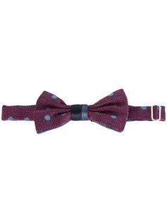 галстук-бабочка в горошек Canali
