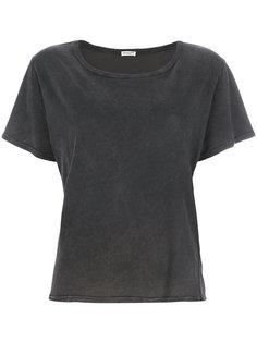 классическая приталенная футболка  Masscob