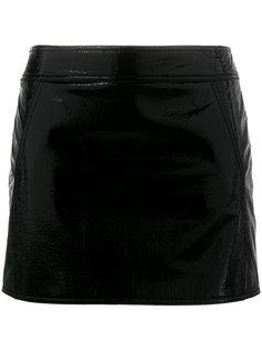 мини юбка Trapeze Saint Laurent