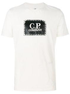 logo print T-shirt CP Company