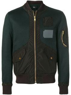 куртка-бомбер с панельным дизайном Kolor