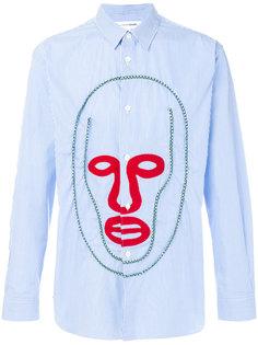 рубашка с принтом лица Comme Des Garçons Shirt