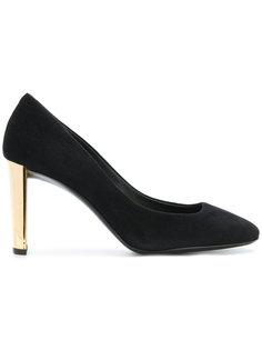 туфли на контрастном каблуке Giuseppe Zanotti Design