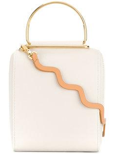 сумка через плечо с металлической ручкой Roksanda